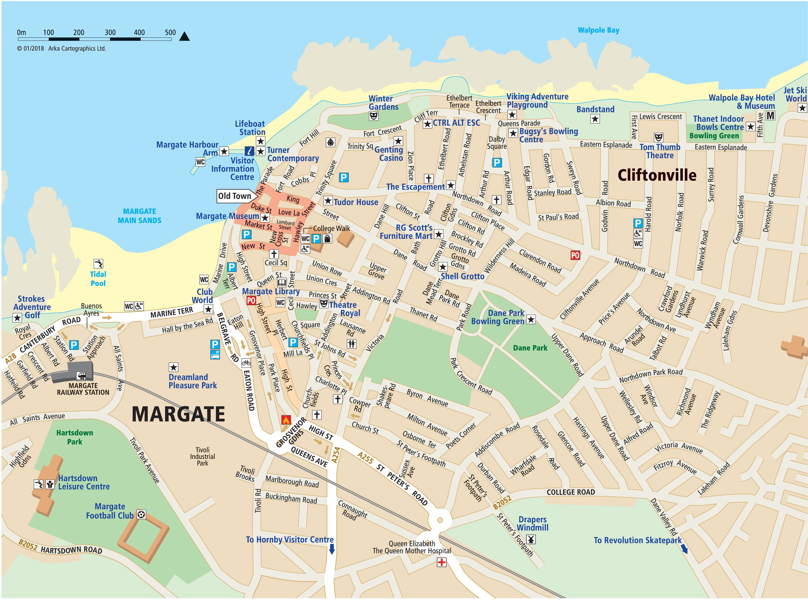 location map margate map broadstairs map