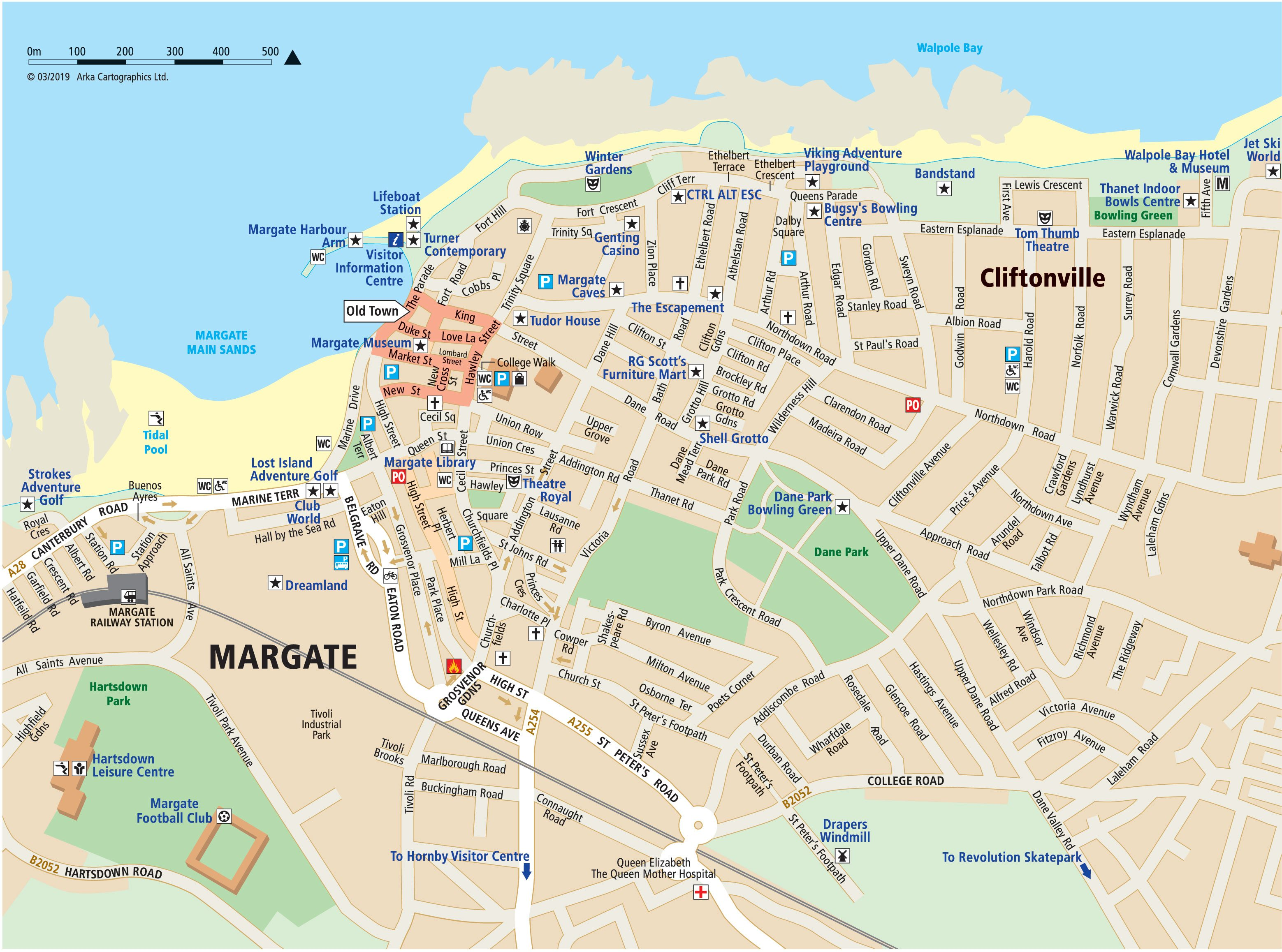 London Street Map Pdf Free Download.Maps Of Margate Broadstairs And Ramsgate Visit Thanet