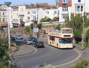 Stagecoach's Open Top Bus between Broadstairs and Ramsgate