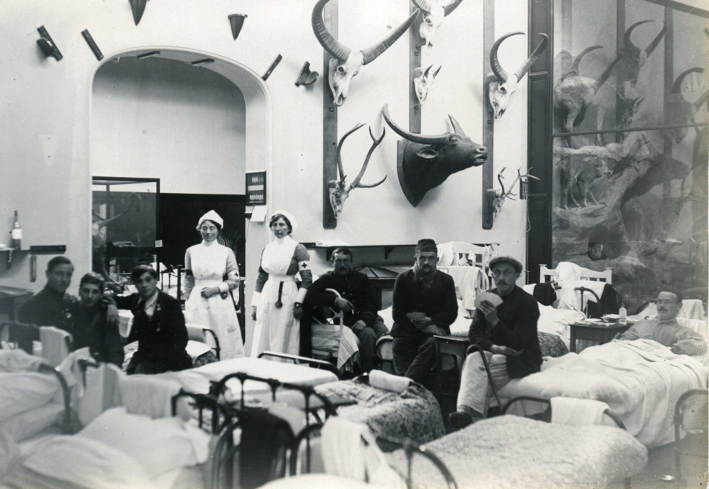 Quex Park VAD Hospital © Quex Park / Powell Cotton Museum