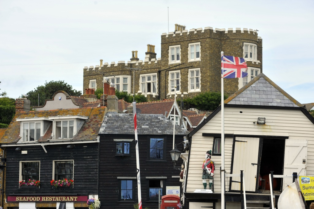 Broadstairs Harbour and Bleak House