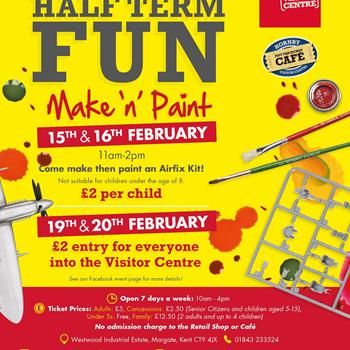Hornby Half-Term Make 'n' Paint