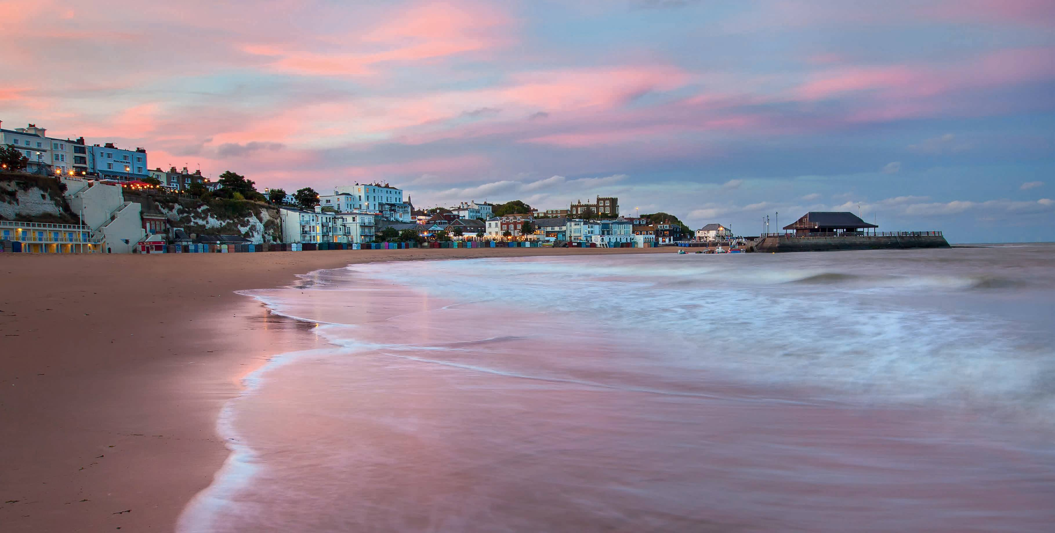 Viking Bay, Broadstairs. Thanet Tourism