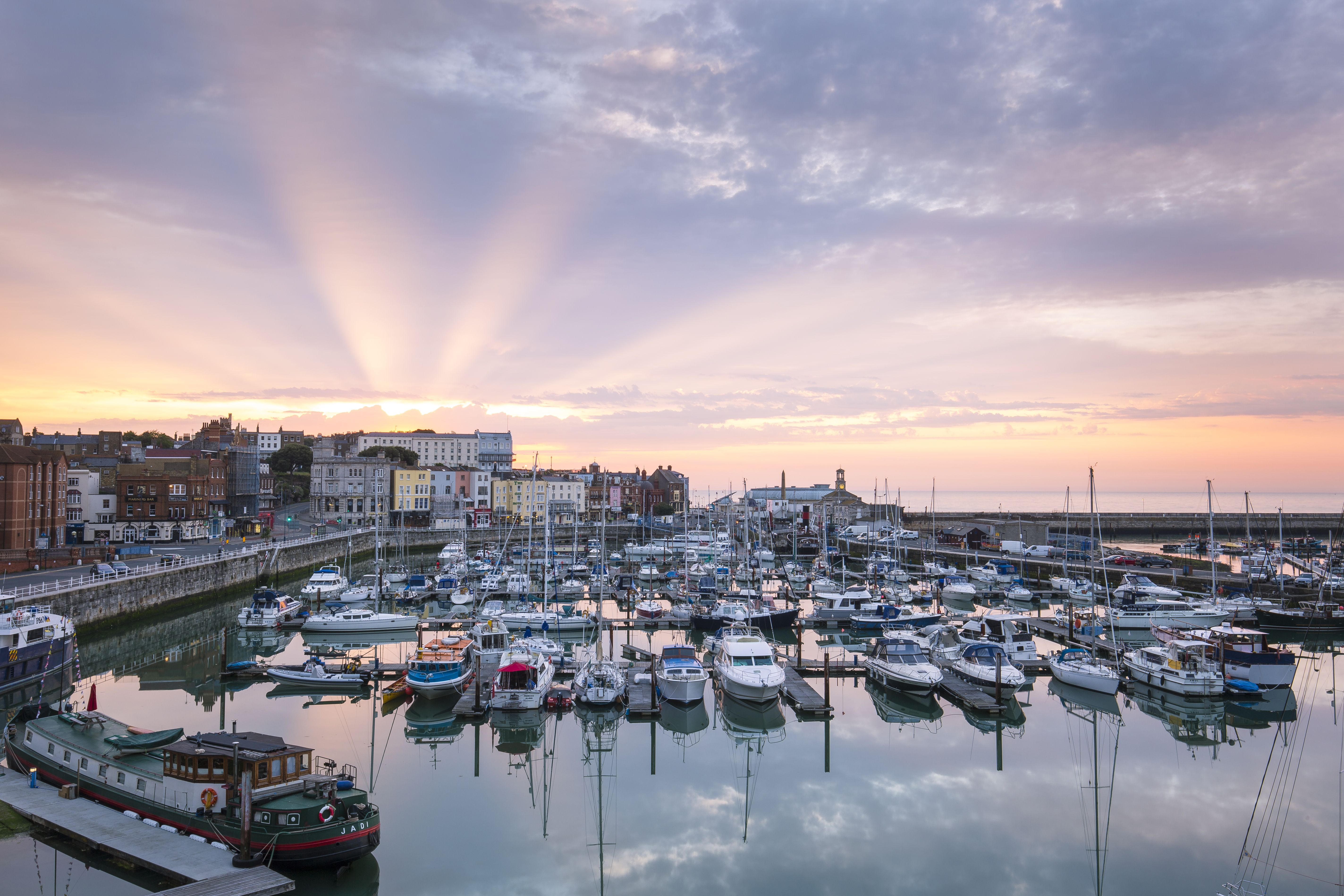 Sunrise at Ramsgate Royal Harbour