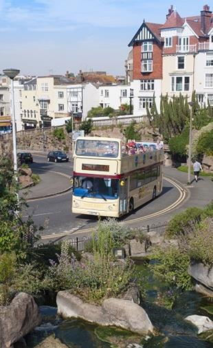 Stagecoach Open Top Bus tours in Thanet, Kent